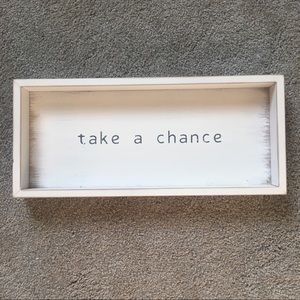 Other - Take a Chance Wall Art